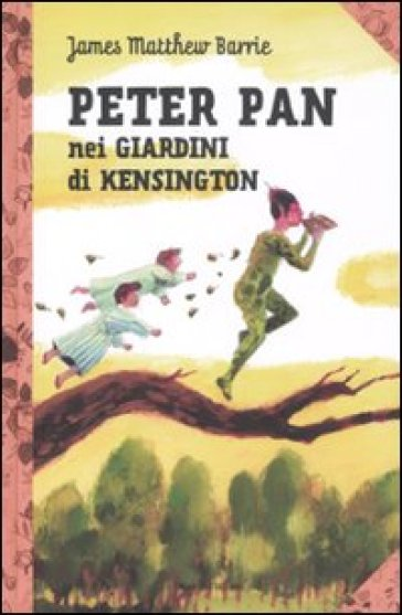 Peter Pan nei giardini di Kensington - James Matthew Barrie | Jonathanterrington.com