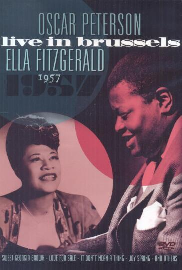 Peterson/Fitzgerald - Live in Brussels 1957 (DVD)