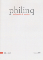 Philinq. Philosophical inquiries (2015). 2.