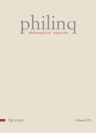 Philinq. Philosophical inquiries (2019). 7. -  pdf epub