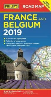 Philip s Road Map France and Belgium