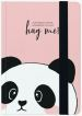 Photo Notebook Medium - Panda - pagine a righe