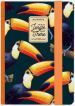 Photo Notebook Small - Toucans - pagine a righe