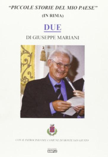 Piccole storie del mio paese - Giuseppe Mariani | Ericsfund.org