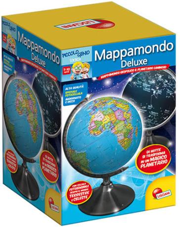 Piccolo genio mappamondo de luxe idee regalo for Regalo libri gratis