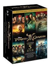 Pirati Dei Caraibi Collection 1-5 (5 Dvd)