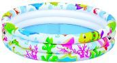 Piscina >Sea World a 3 anelli - cm. 107x107x26