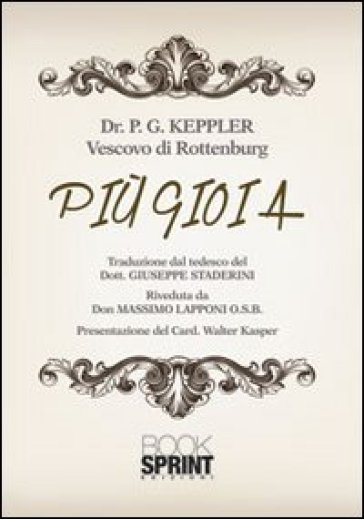 Più gioia - P. G. Keppler  