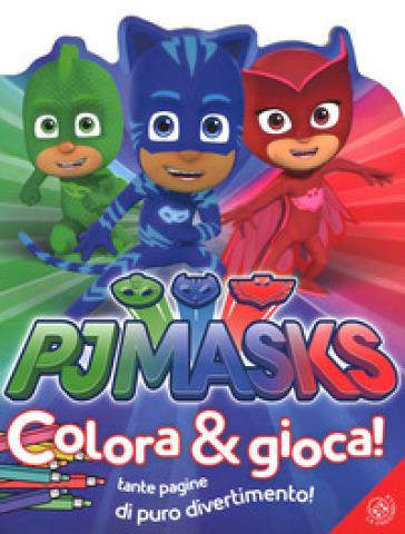 Pj masks colora e gioca ediz a colori libro - Libro immagini a colori ...