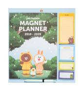 Planner Magnetico 2019/2020 Line Friends