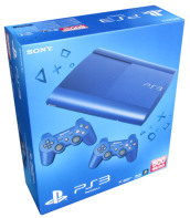 Playstation 3 500GB Blue+2 D.Shock Blue