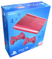 Playstation 3 500GB Red+2 D.Shock Red