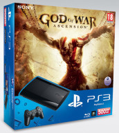 Playstation 3 500GB+God of War Ascension