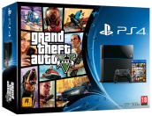 Playstation 4 + Grand Theft Auto V