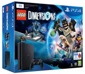 Playstation 4 Slim 1TB + LEGO Dimensions