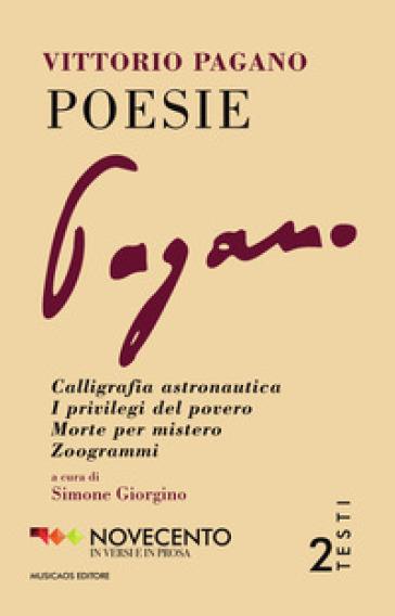 Poesie - Vittorio Pagano |