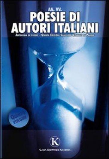 Poesie di autori italiani. 5.