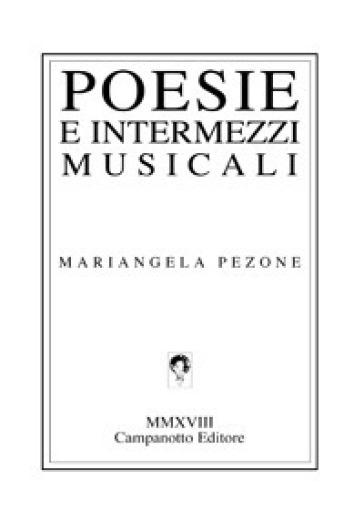 Poesie e intermezzi musicali - Mariangela Pezone | Kritjur.org