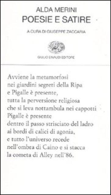 Poesie e satire - Alda Merini |