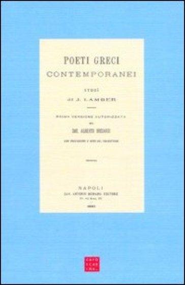 Poeti greci contemporanei - Juliette Lamber |
