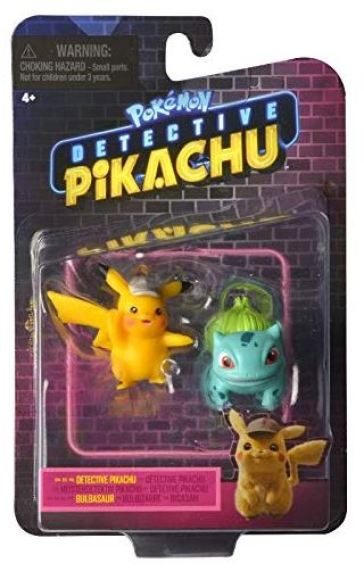Pokemon  Detective Pikachu Battle Figures