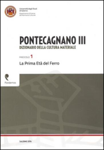 Pontecagnano III. Dizionario della cultura materiale. 1.La prima età del ferro - Patrizia Gastaldi |