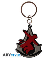 Portachiavi Assassin s Creed - Crest PVC
