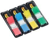 Post-it Index - Miniset Dispenser 140 Segnapagina 4 Colori (12x43,6 Mm)