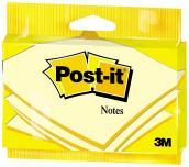 Post-it Notes - Flow Pack Appendibili 100 Fogli Gialli (76x127 Mm)