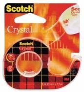 Post-it Scotch - Nastro Adesivo Supertrasparente Con Chiocciola (19mmx10mt)