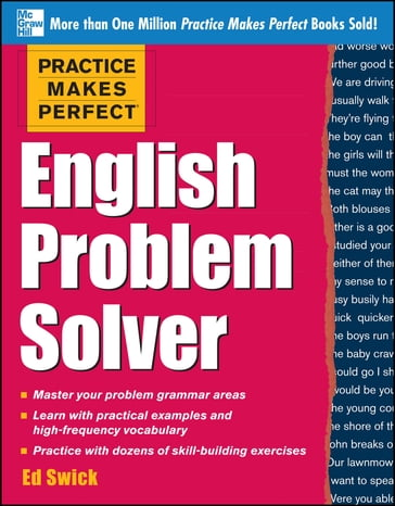 Practice Makes Perfect English Problem Solver (EBOOK)