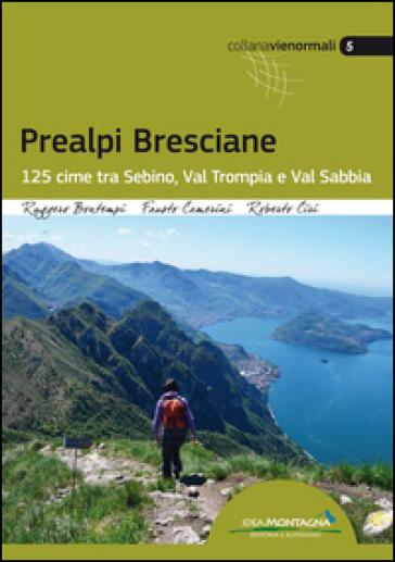 Prealpi bresciane. 125 cime tra Sebino, Val trompia e Val Sabbia - Ruggero Bontempi   Thecosgala.com