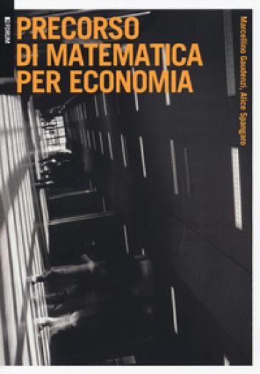 Precorso di matematica per economia - Marcellino Gaudenzi pdf epub