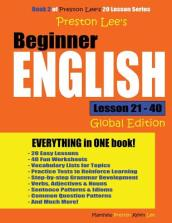 Preston Lee s Beginner English Lesson 21 - 40 (Global Edition)