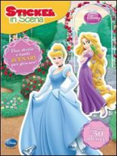 Principesse. Sticker in scena