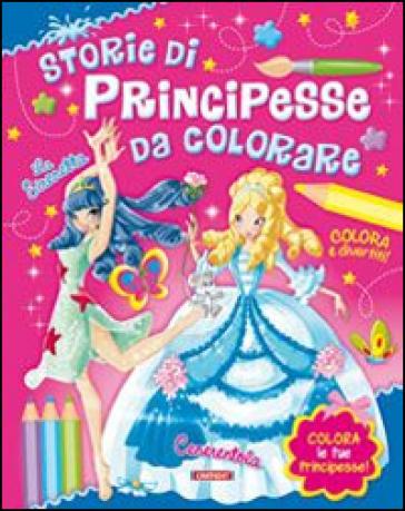 Principesse da colorare libro mondadori store - Sirena libro da colorare ...