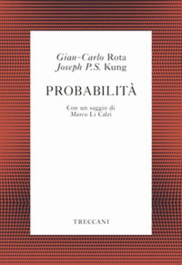 Probabilità - Gian Carlo Rota |