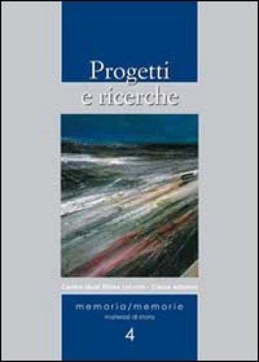 Progetti e ricerche - G. Contini | Kritjur.org