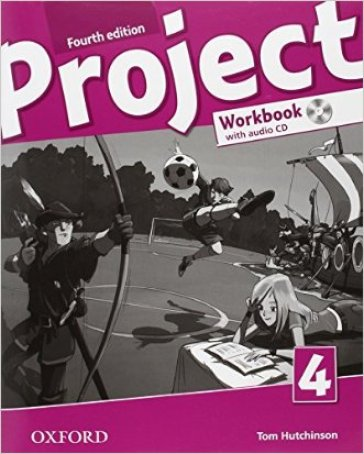Project 4th. Workbook. Per la Scuola media. Con CD. Con espansione online. 4.