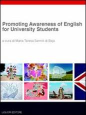 Promoting awareness of english for university students