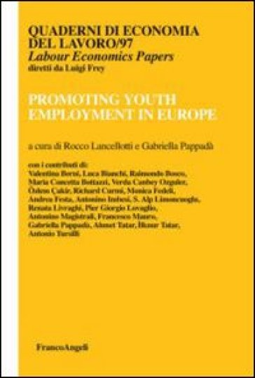 Promoting youth employment in Europe