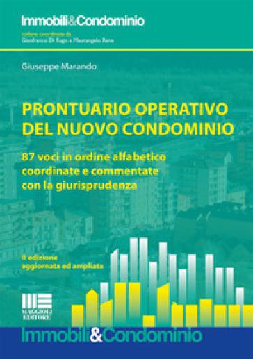 Prontuario operativo del nuovo condominio - Giuseppe Marando |