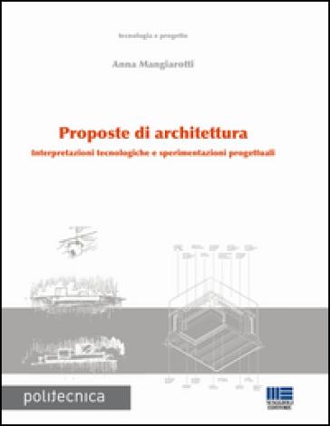 Proposte di architettura -  pdf epub