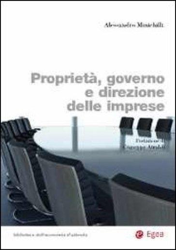 Proprietà, governo e direzione delle imprese