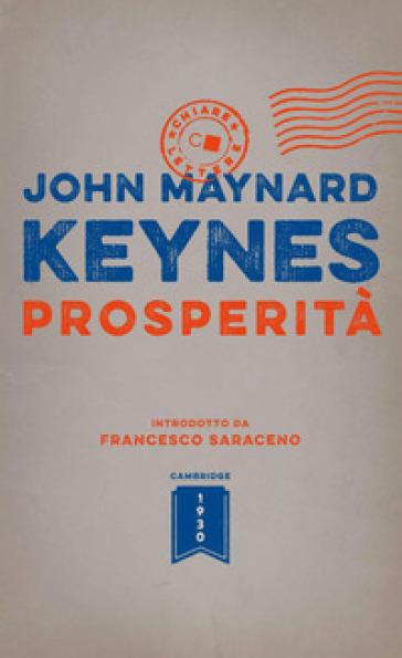 Prosperità - John Maynard Keynes  