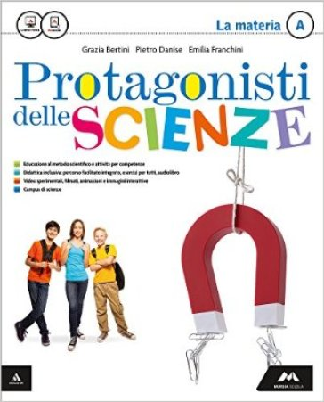 Protagonisti delle scienze. Vol. A-B-C-D. Per la Scuola media. Con e-book. Con espansione online - Franco Bertini |