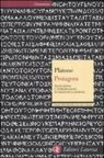 Protagora. Testo greco a fronte - Platone  