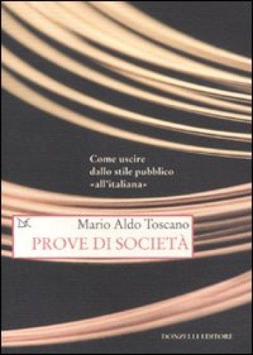 Prove di società - Mario Aldo Toscano   Kritjur.org