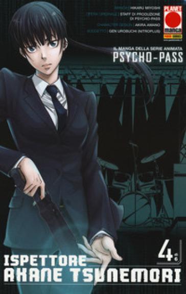 Psycho-Pass ispettore Akane Tsunemori. 4.