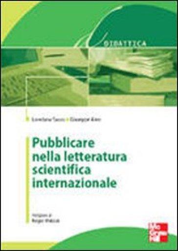 Pubblicare nella letteratura scientifica internazionale - Loredana Sasso   Ericsfund.org